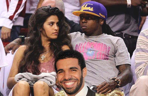 Lil Wayne, Dhea and Drake