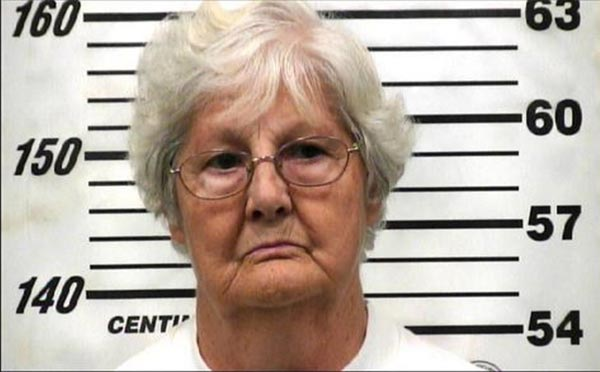 Margie Rhea Ramey Mugshot - Shoots At Family For Turning Around In Her Driveway