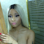 Photo of Nicki Minaj Naked Topless Pic in Bathroom