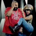 Nicki Minaj twerking on DJ Khaled