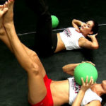 Photo of Bella Twins Bare Feet Workout