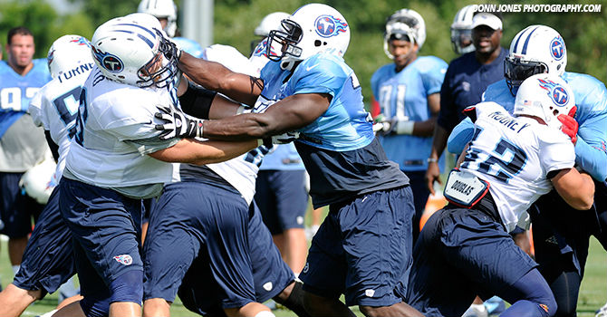 Photo of Titans at Training Camp - Saint Thomas Sports Park in Nashville