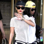 Picture of Rihanna braless see-through in Sweden photo