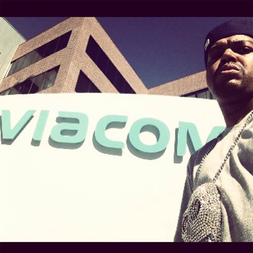 Rapper DJ Paul visit Viacom for Ryan Seacrest co-produced reality show