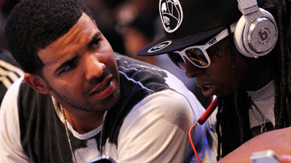 Photo - Drake and Lil Wayne