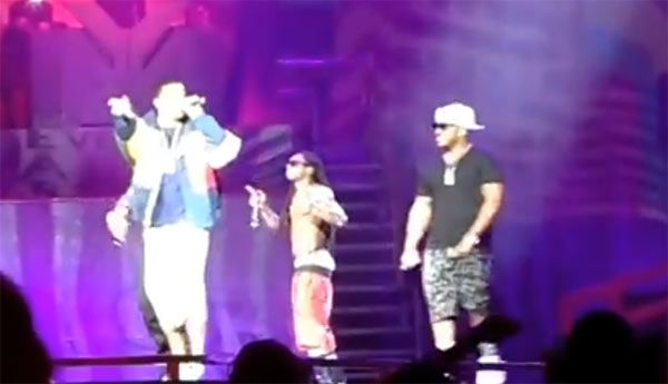 Drake joins Lil Wayne on stage in New York for America Most Wanted tour