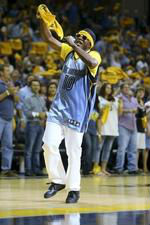Photo of Al Kapone at Grizzlies Game