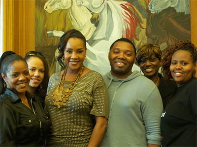Heal The Hood Foundation Vivica Fox, LaDell Beamon