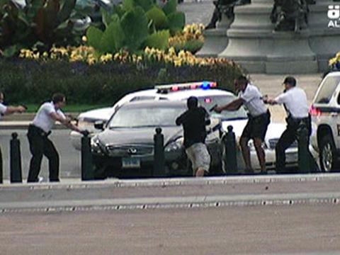 White House car chase video