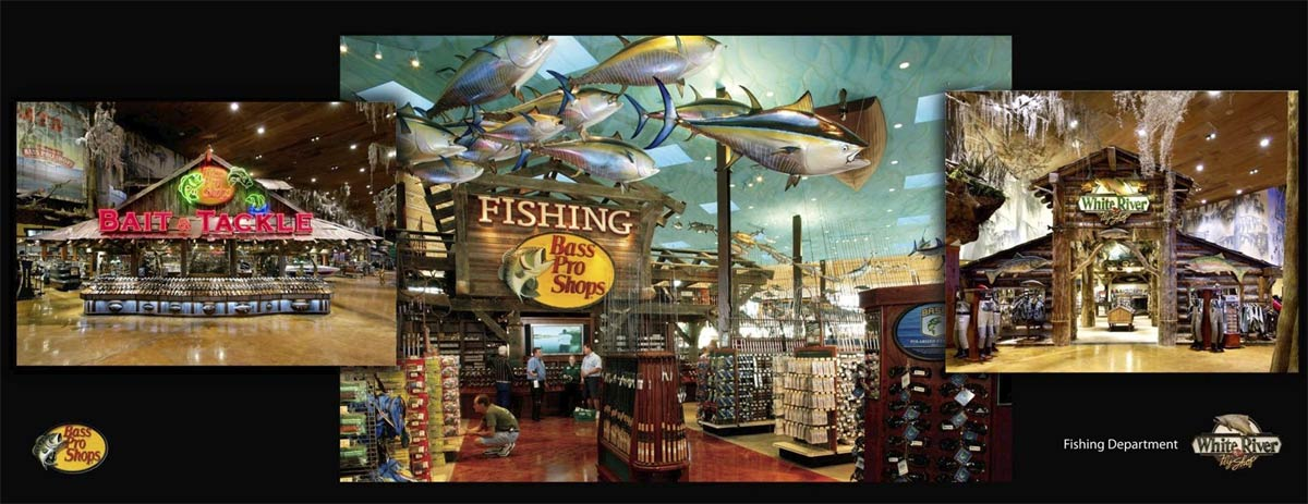 New bass pro shop memphis tn pictures for Fishing in memphis
