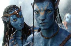 Avatar - Neytiri and Jake Sully