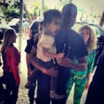 Beyonce, Jay-Z and Blue Ivy in South Beach Miami