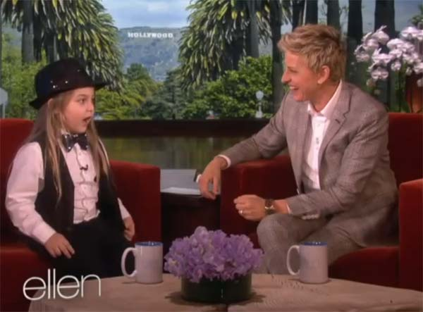 Kid Piano Prodigy Elias Phoenix on Ellen Show
