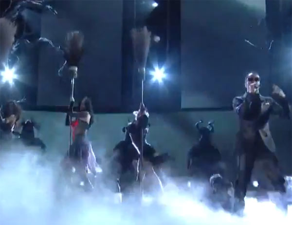 Katy Perry and Juicy J Grammy Performance