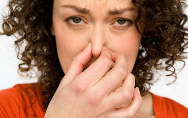 Woman Smell Stench