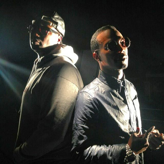 Photo - Juicy J and Project Pat