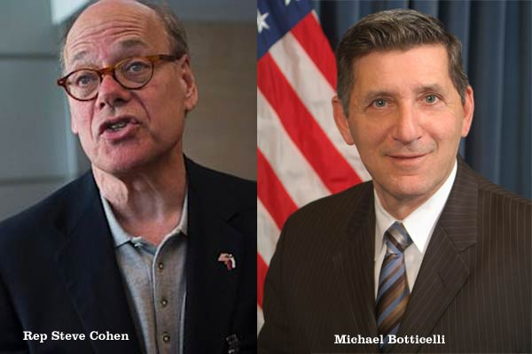 Rep Steven Cohen and Michael Botticelli