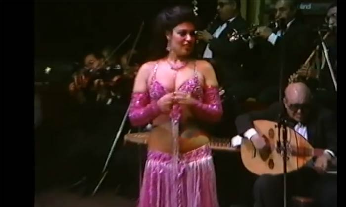 The Queen of Oriental Dance, belly dancer  Fifi Abdou