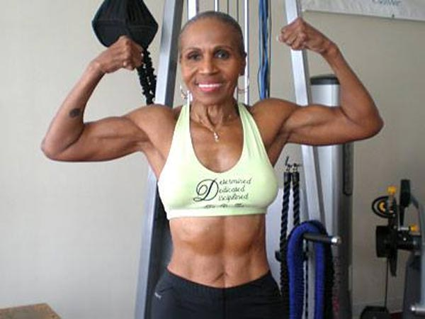 Ernestine Shepherd 77 year-old bodybuilder
