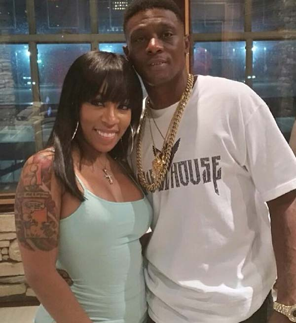 K. Michelle and Lil Boosie working together on remix