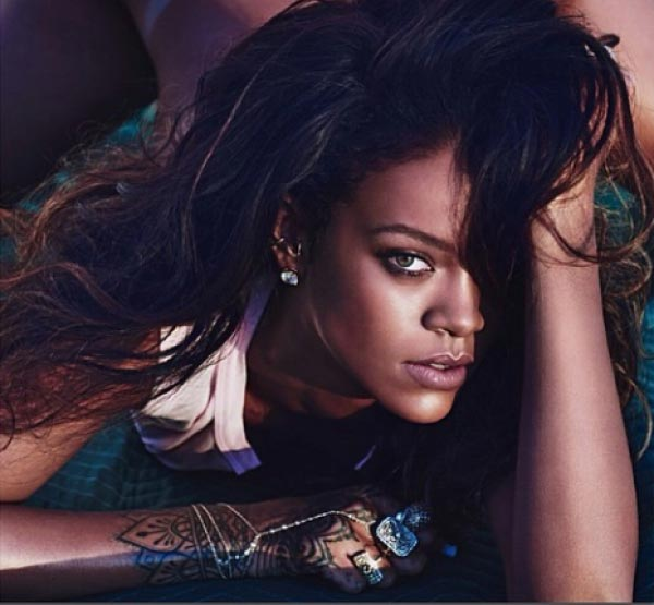 Rihanna photo for Lui French magazine