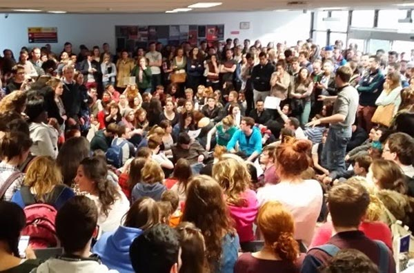 Students Anti-Gay Protest
