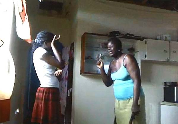 Caribbean mom whipping 12 daughter for posting facebook photos