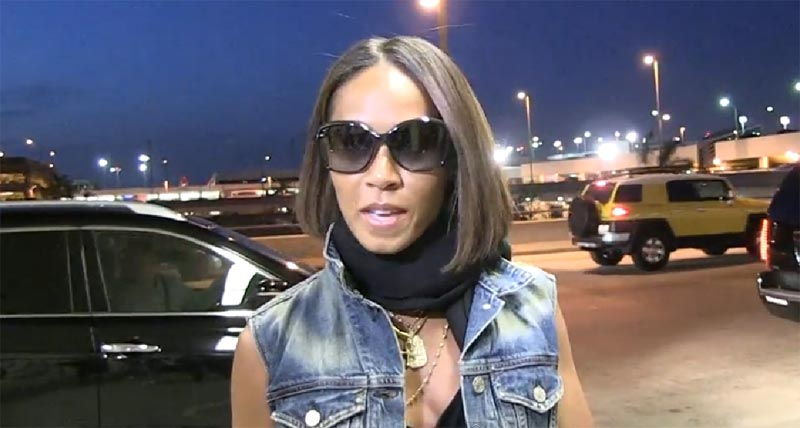 Jada Pinkett Smith speaks on Willow Smith picture with actor Moises Arias