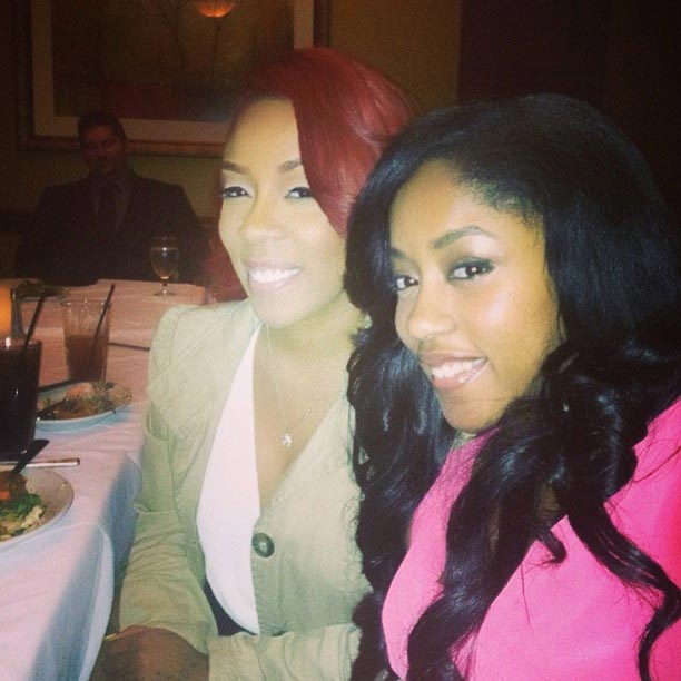 K Michelle and younger sister Shalah - 1