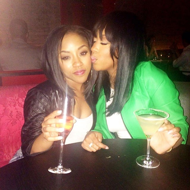 K Michelle and younger sister Shalah - 2