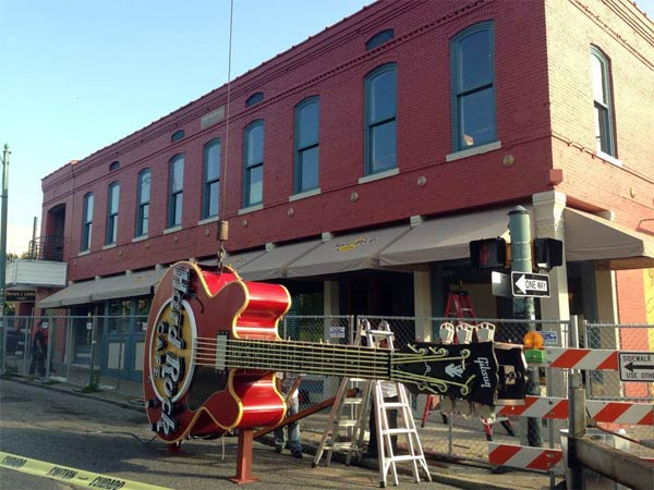 Hard Rock Cafe Memphis 126 Beale Street relocation