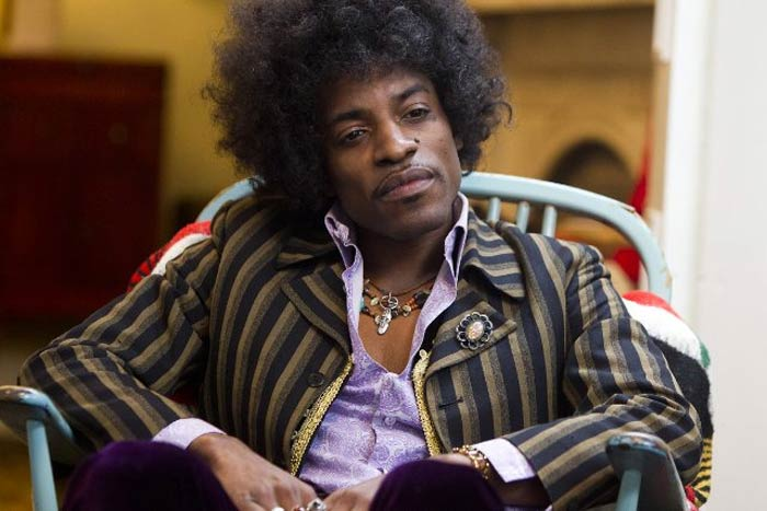 Andre 3000 as Jimi Hendrix All Is By My Side movie