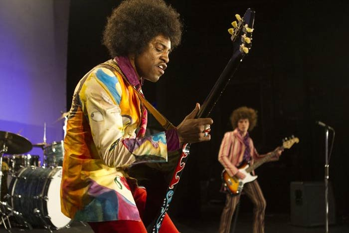 Andre 3000 as Jimi Hendrix All Is By My Side