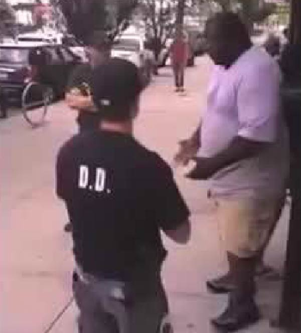 Eric Garner killed by police in chokehold