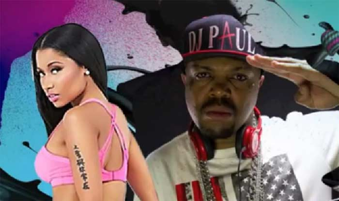 DJ Paul, Nicki Minaj Anaconda remix