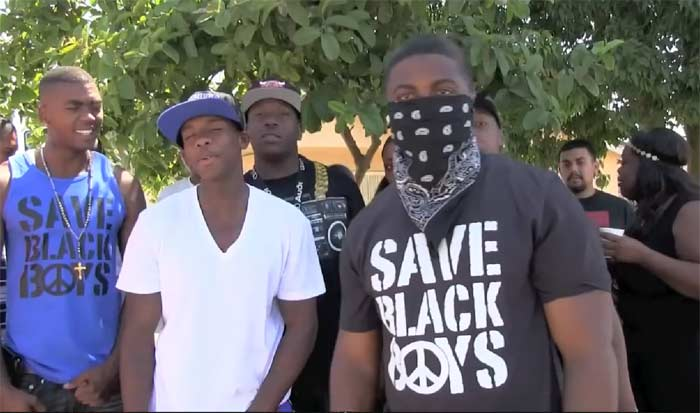 F Tha Police Ceebo threat to LAPD for killing Ezell Ford