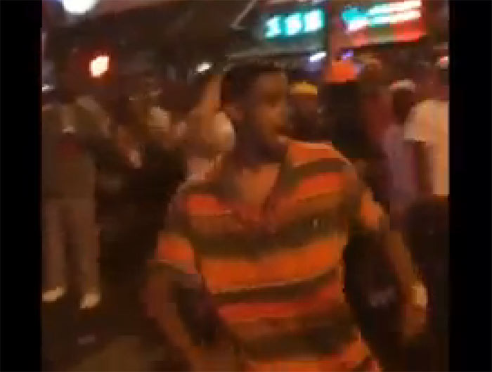 Jonathan Parker knocked out on Beale Street