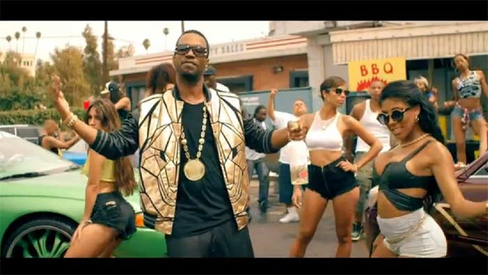 Juicy J, Nicki Minaj, Lil Bibby, Young Thug - Low music video