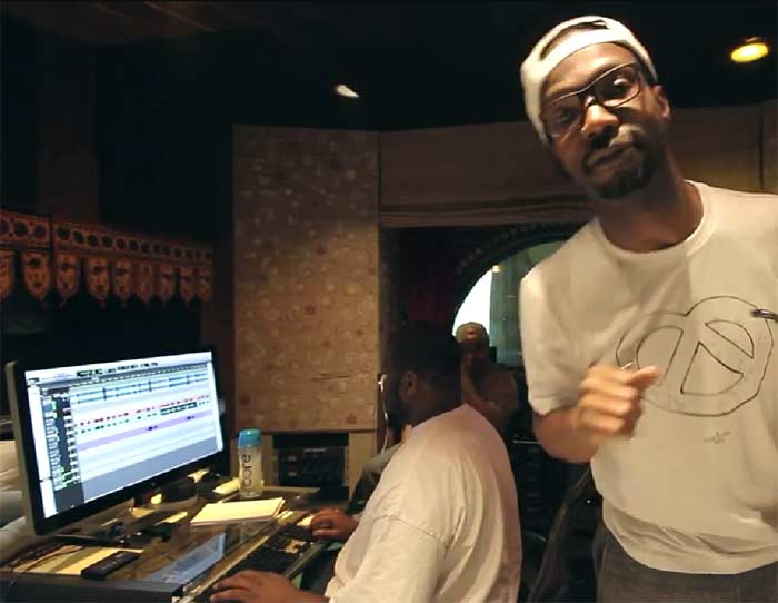 Juicy J studio session Project Pat, Ty Dolla Sign