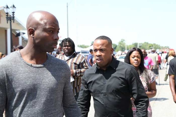 Yo Gotti at Michael Brown funeral