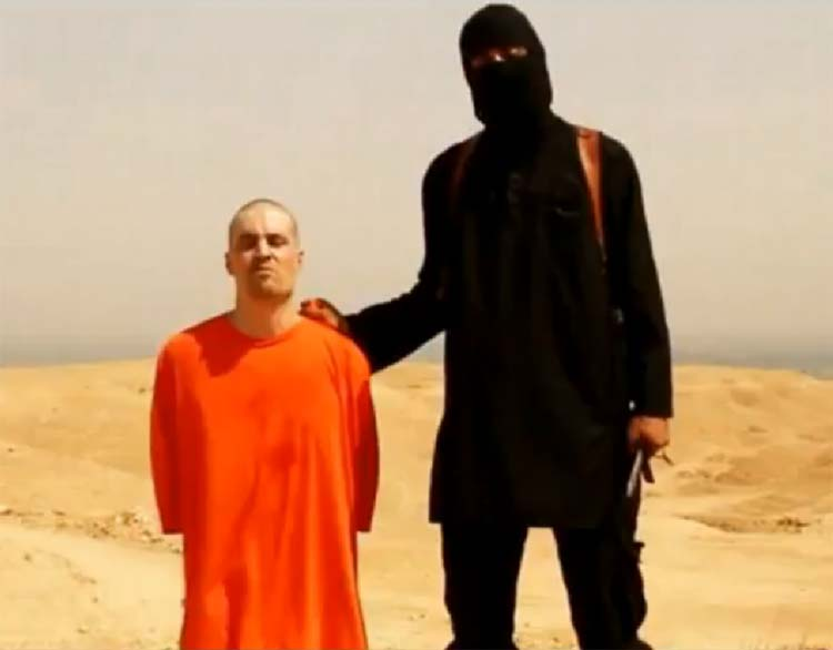 beheading American journalist James Foley