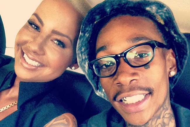 Amber Rose Wiz Khalifa divorce