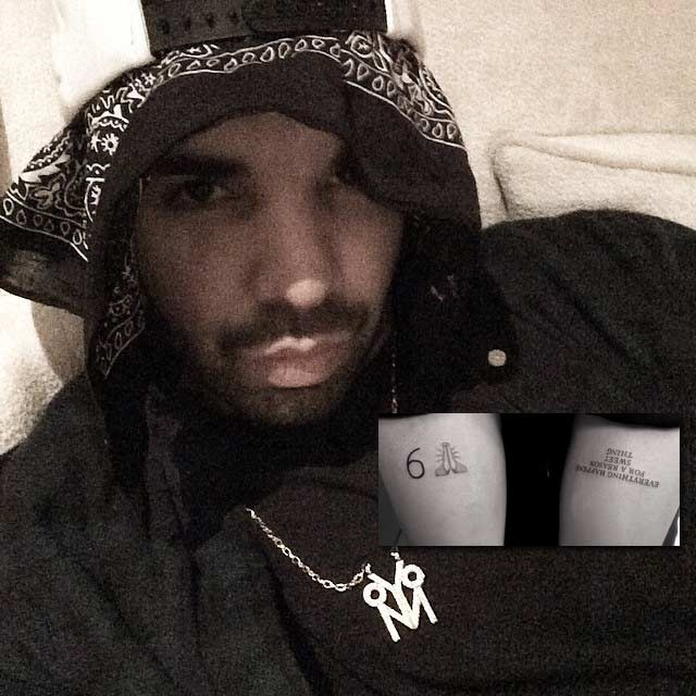 October s very own for Drake new tattoo