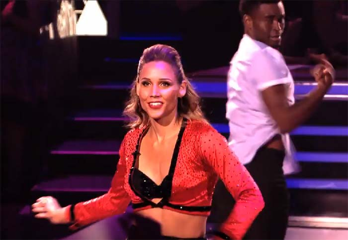Lolo Jones Dancing With The Stars robot