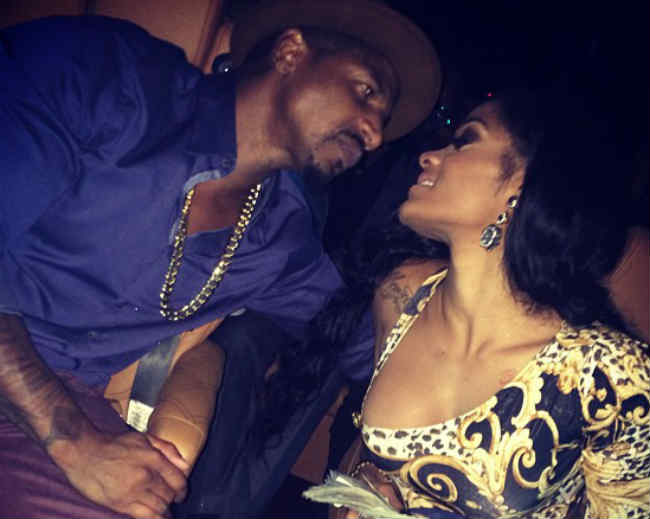 Joseline Henandez and Stevie baby on the way