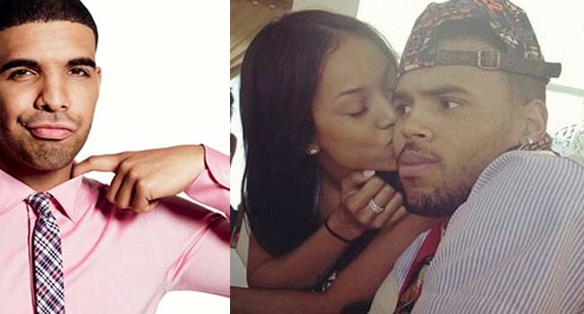 Chris Brown, Karrueche Tran, Drake triangle