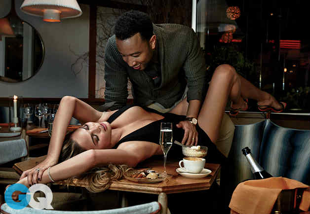 Chrissy Teigen John Legend GQ photoshoot