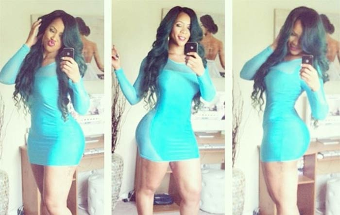 Deelishis aqua dress