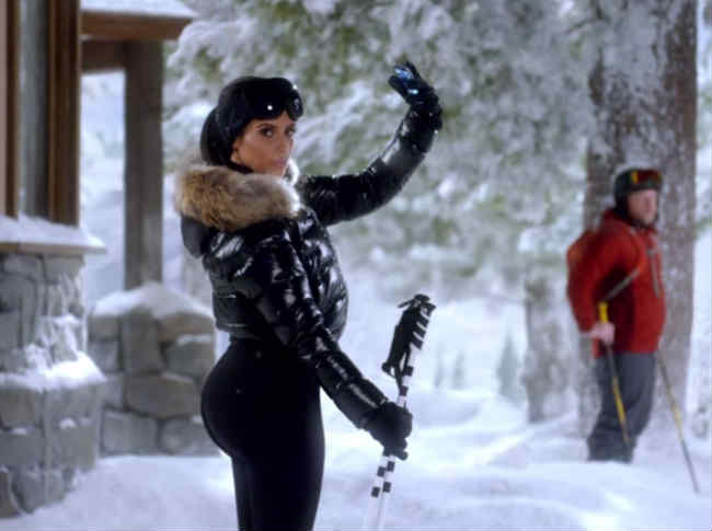 Kim Kardashian Superbowl DataStash T-Mobile
