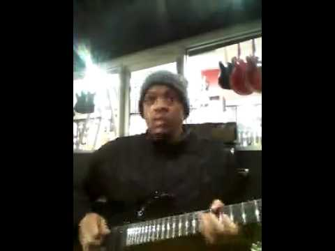 VIDEO: Gangsta Pat Shows His Skills on a 7 String Guitar